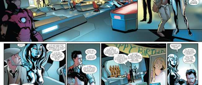 Marvel Comics Tony Stark - Iron Man #1 Review