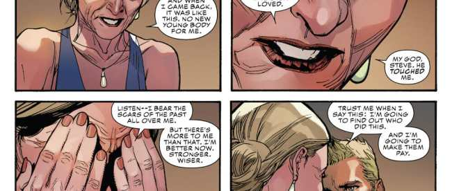 Marvel Comics Captain America #1 Review