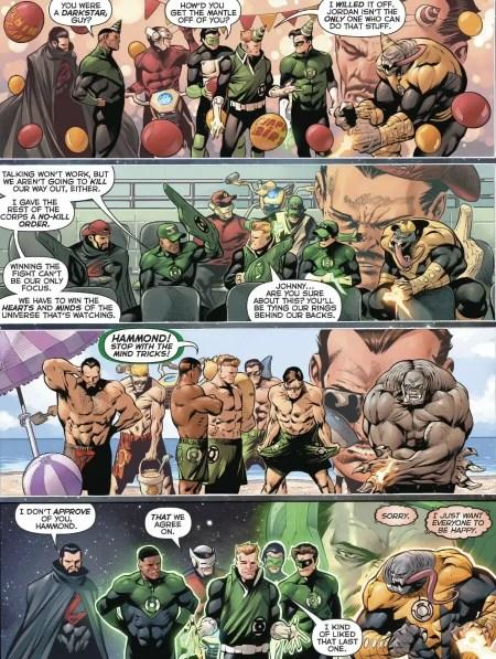 Hal Jordan and the Green Lantern Corps #48 Highlight