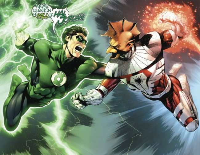 Hal Jordan and the Green Lantern Corps #49 Highlight