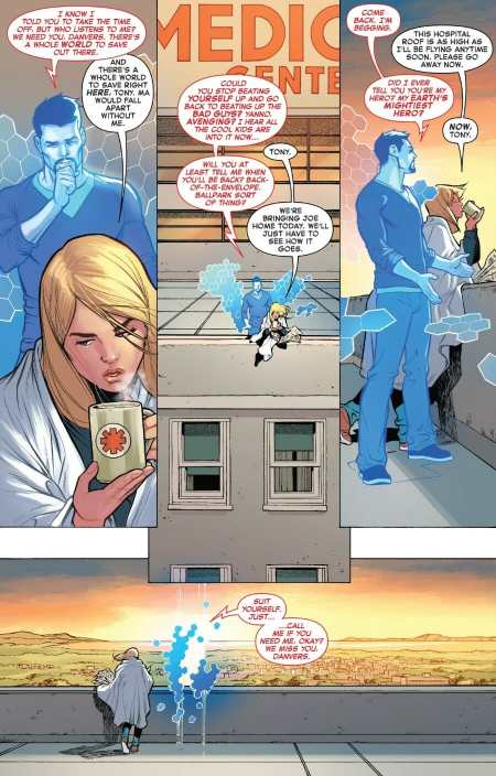 The Life of Captain Marvel #1 Highlight
