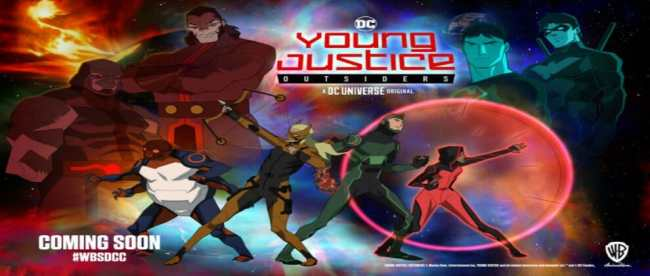 Young Justice Outsider SDCC