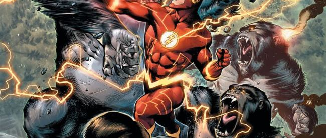 The Flash #58 Cover