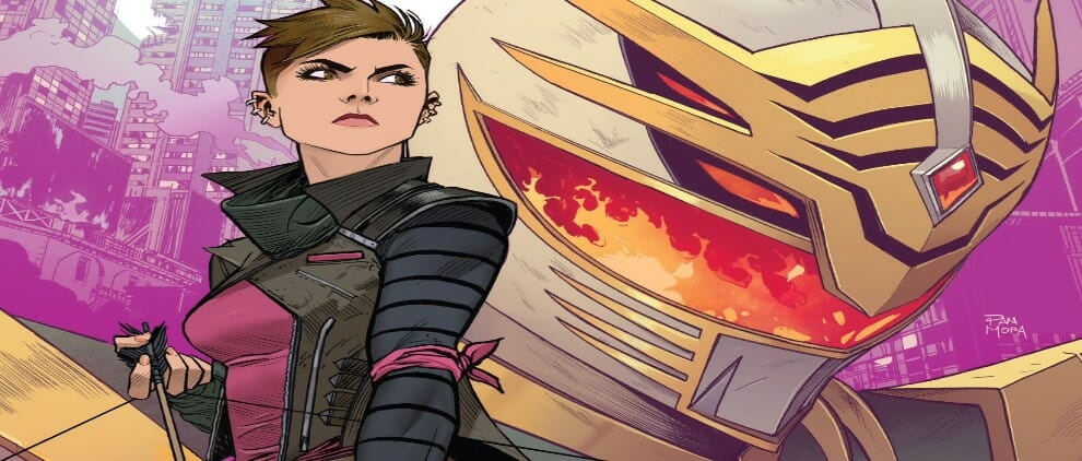 Go Go Power Rangers #12 (Shattered Grid Tie-In) Review