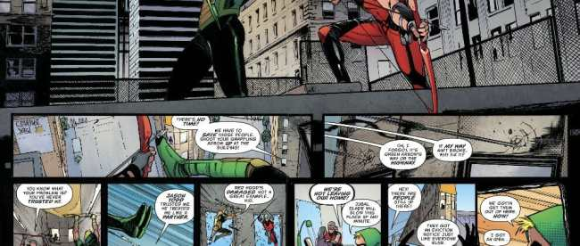 Green Arrow #43 Review