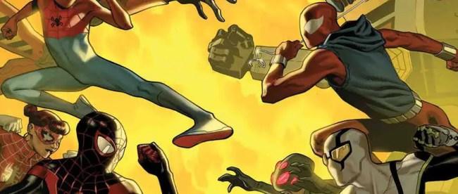 Spider-Geddon #3 Cover