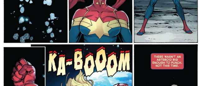 The Life Of Captain Marvel #2 Review