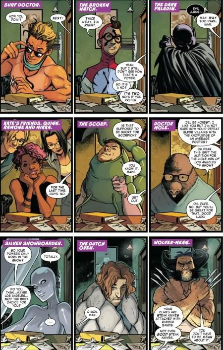 West Coast Avengers 1 Highlight