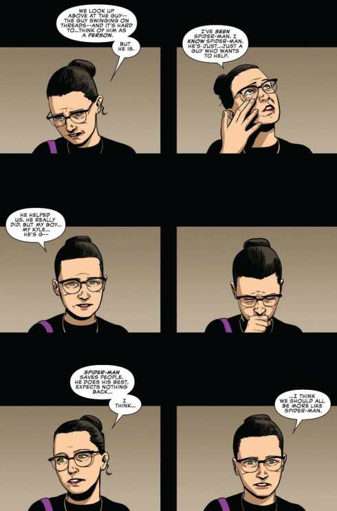Peter Parker: The Spectacular Spider-Man #310 Highlight