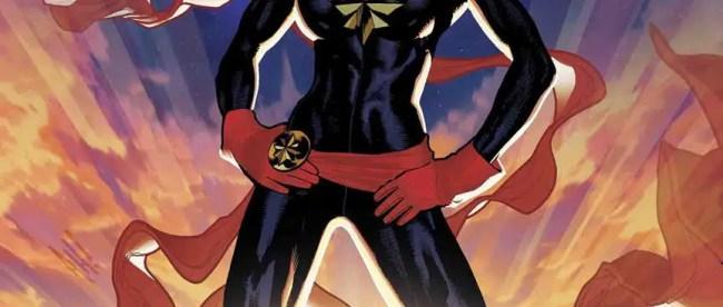 Captain Marvel #1 Hughes Variant