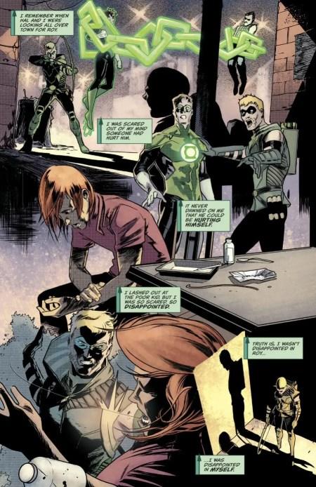 Green Arrow #45 Moment