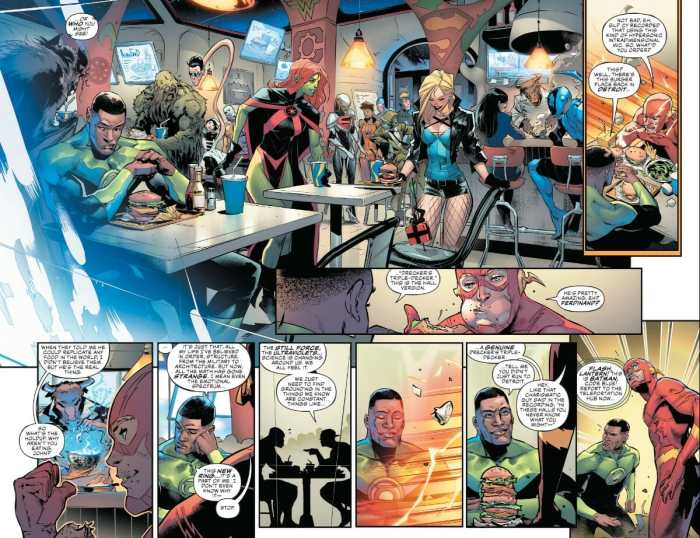 Justice League #9 Moment