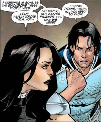 Titans #28 Moment