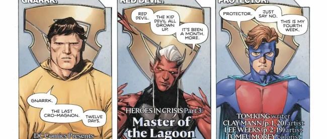 DC Comics Heroes in Crisis #3 Review