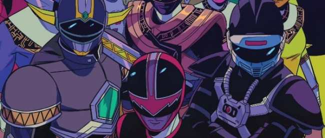 Mighty Morphin Power Rangers Teams Assemble 2018