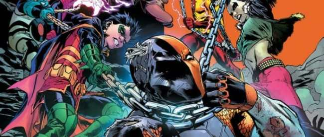 Teen Titans #28 Cover