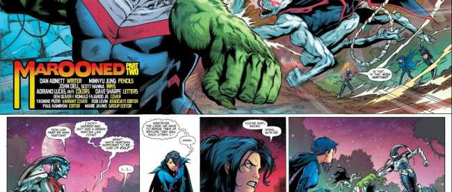 Titans #30 Review
