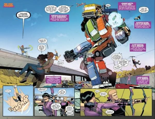 West Coast Avengers 5 Highlight