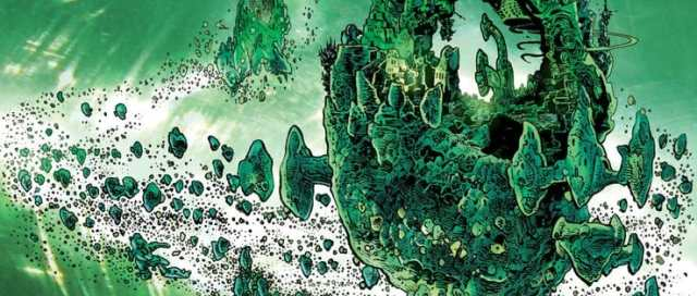 The Green Lantern #7 Cover