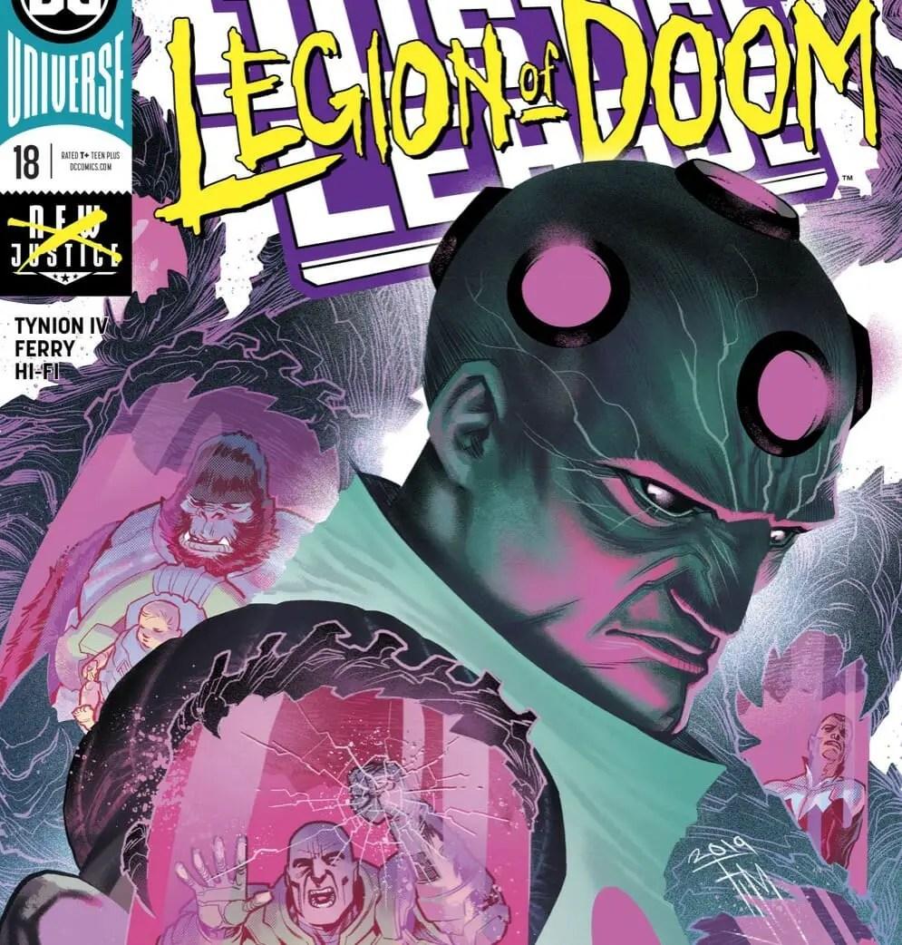 DC Comics Justice League #18 Review