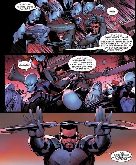 Avengers #14 Blade vs Vampires