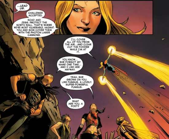 Captain Marvel #2 Carol Danvers Leads