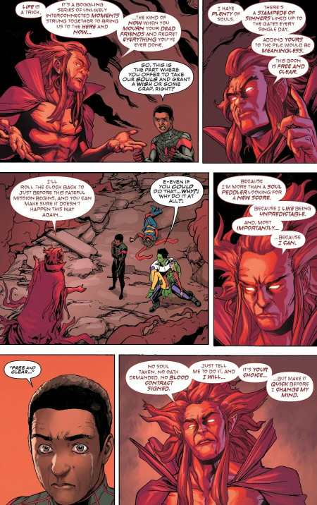 Champions #2 Miles Morales Deal With Mephisto