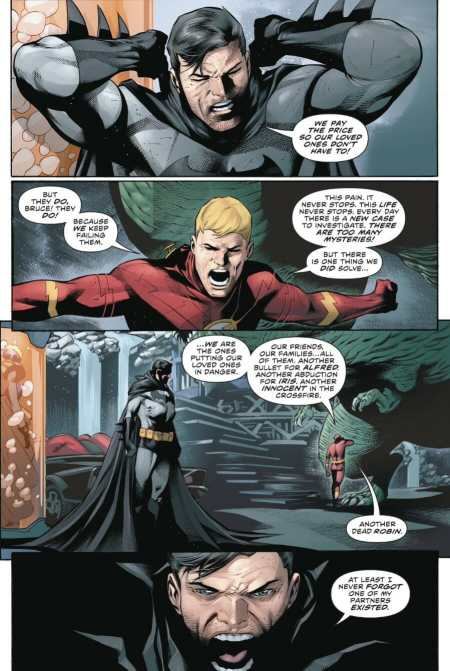 Flash #65 Barry Allen And Bruce Wayne Throw Salt