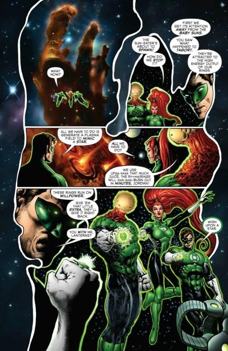 Green Lantern #4 Hal Jordan Powers Up