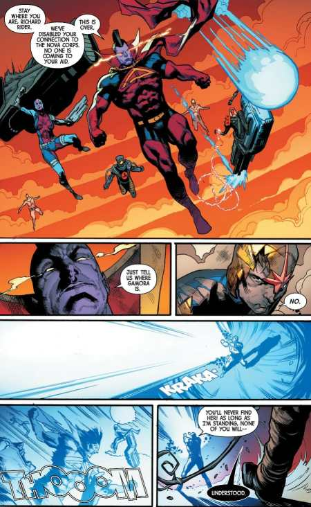 Guardians of the Galaxy #3 Moment