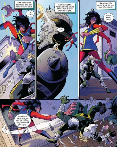 The Magnificent Ms. Marvel #1 Moment