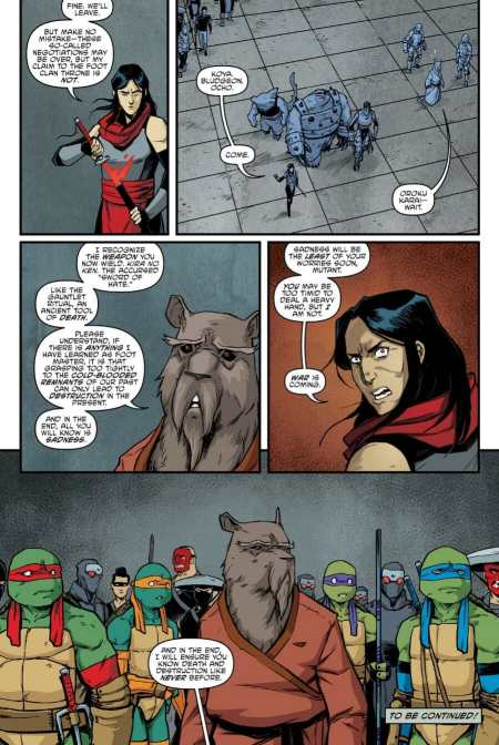 Teenage Mutant Ninja Turtles #92 Moment