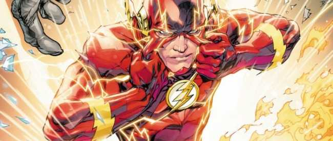 Flash #75 Cover
