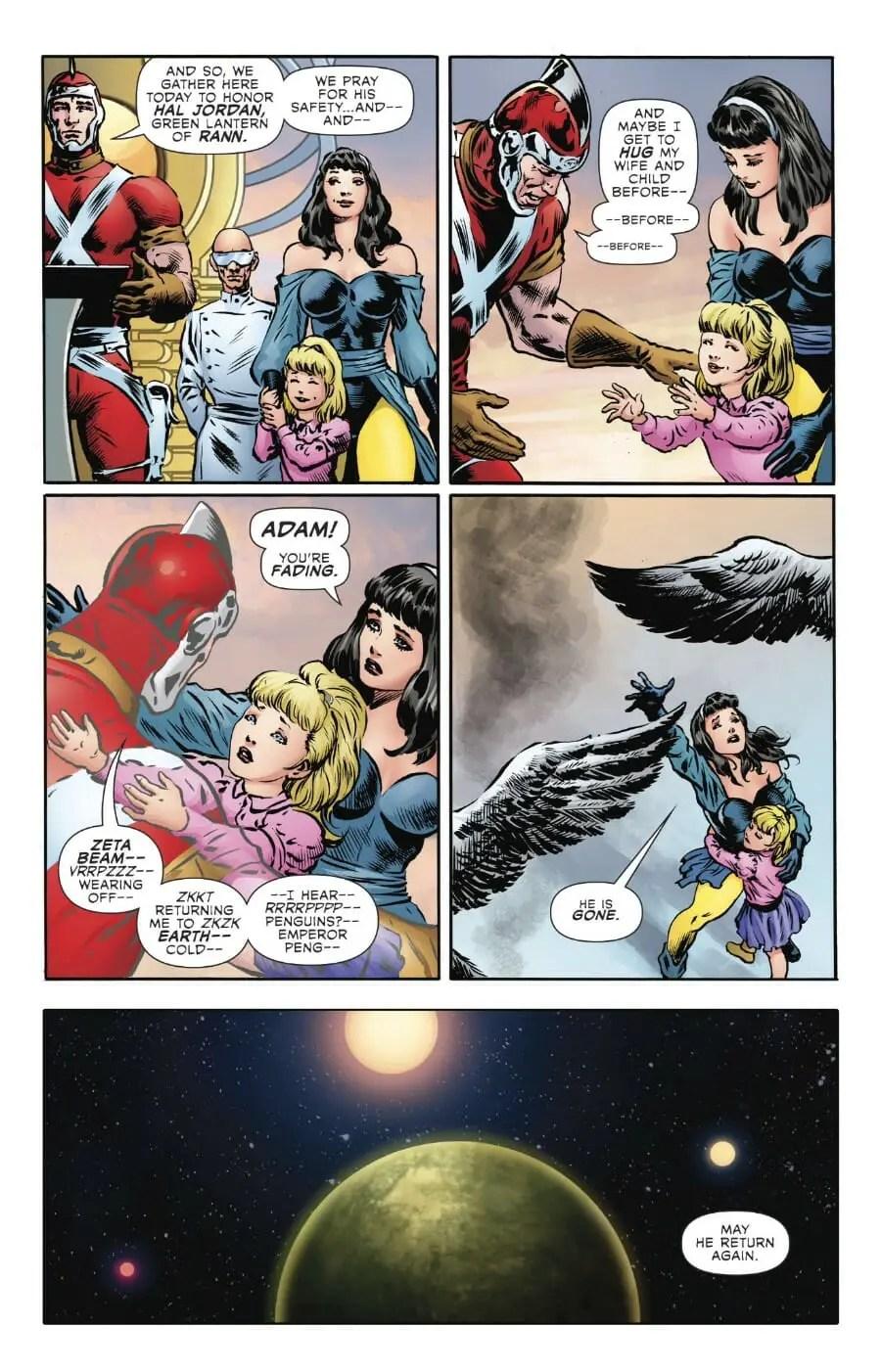 The Green Lantern #6 Review - Comic Book Revolution