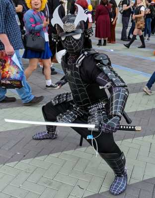 WonderCon 2019 Spider-Man Samurai