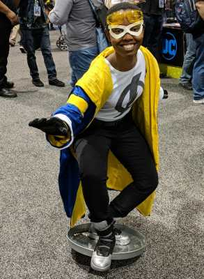 WonderCon 2019 Static Shock