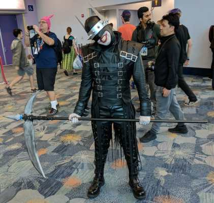 WonderCon 2019 Teenage Mutant Ninja Turtles April Shredder
