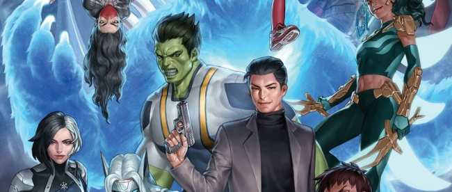 Agents of Atlas #1 Cover