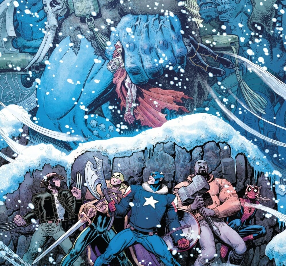 Marvel Comics The War of The Realms #3 Review