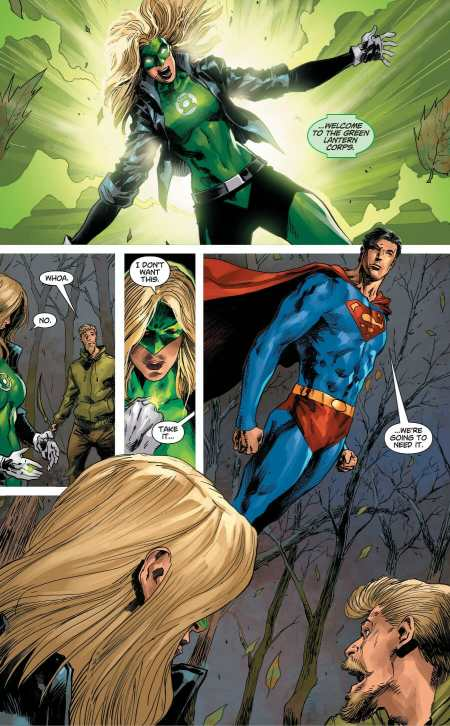DCeased #2 Green Lantern Black Canary Moment