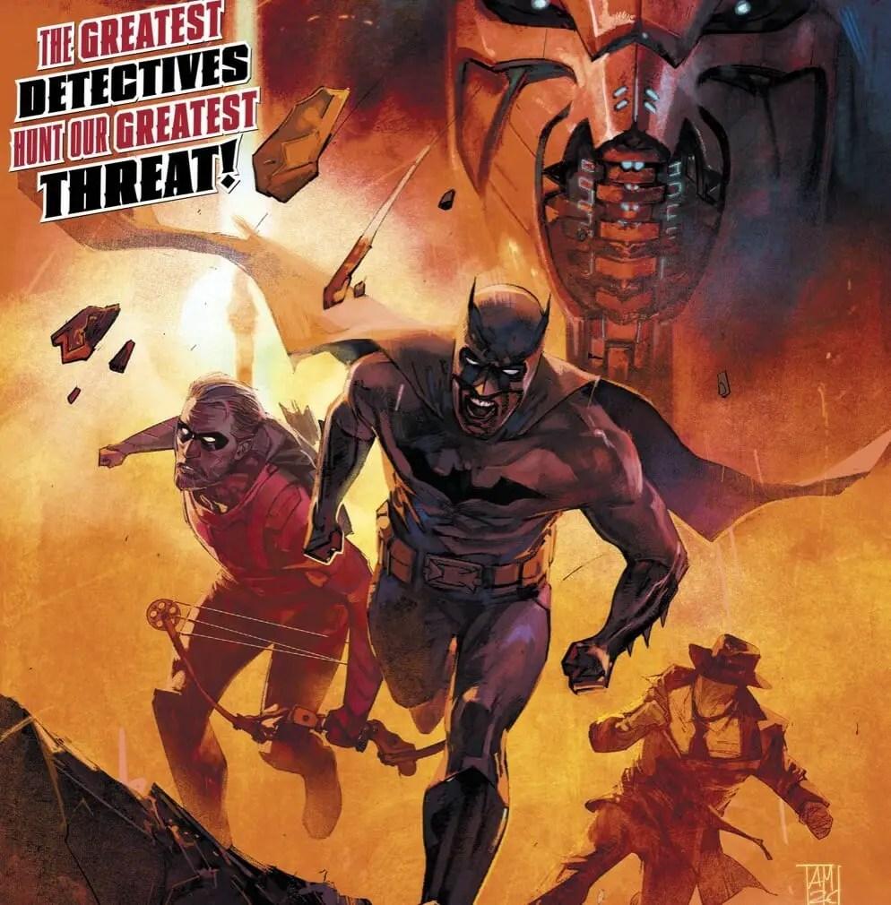 DC Comics Event Leviathan #1 Review