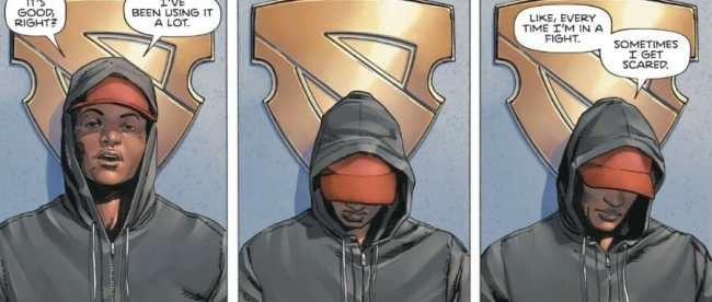 Heroes In Crisis Hot Spot Confessional