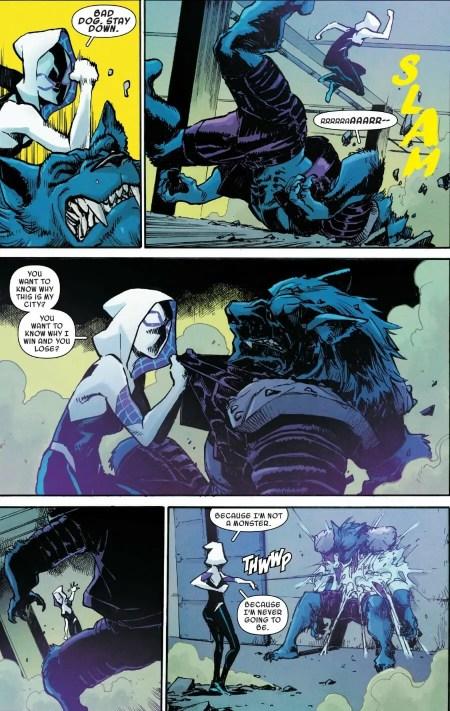 Spider-Gwen: Ghost Spider #9 Spider-Woman Badass Moment