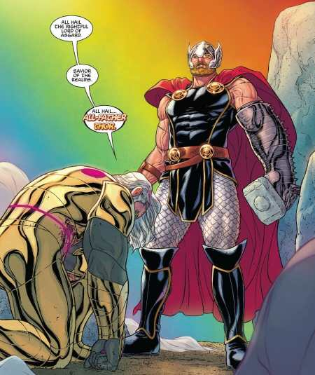 War Of The Realms #6 All Father Thor Moment