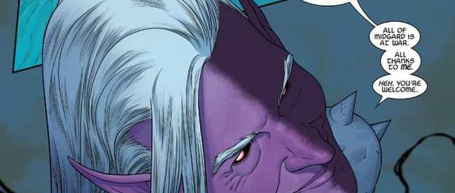 War Of The Realms Malekith the Accursed