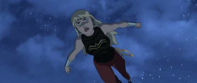 Young Justice Outsiders Episode 17 First Impression Wonder Girl
