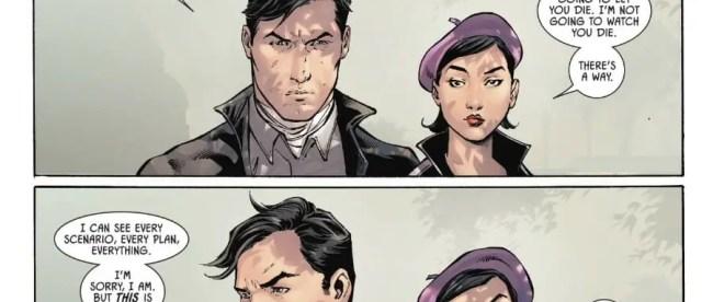 Batman #77: Selina Kyle Won't Give Up On Bruce Wayne