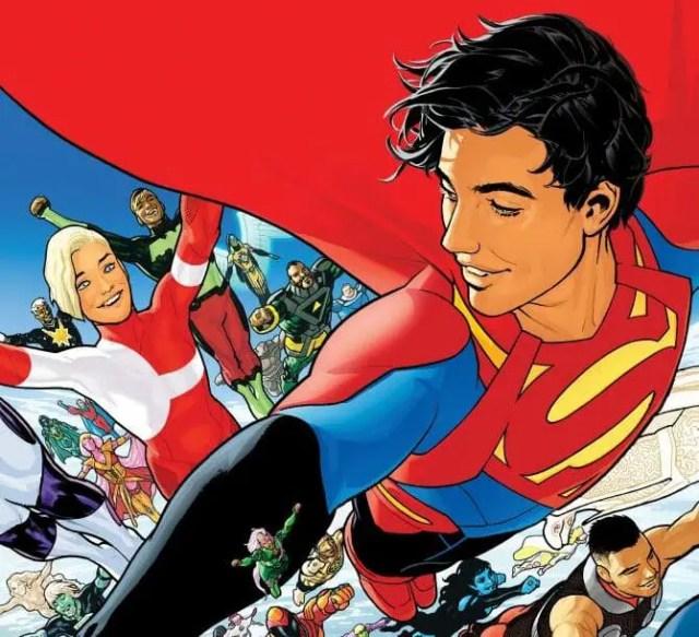 DC Comics Legion of Super Heroes #1 Cover