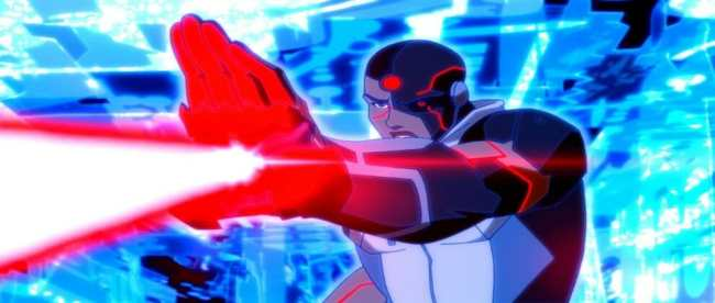 Young Justice Outsiders Episode 24 Into The Breach Cyborg