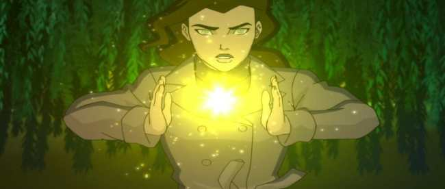 Young Justice Outsiders Episode 25 Overwhelmed Zatanna